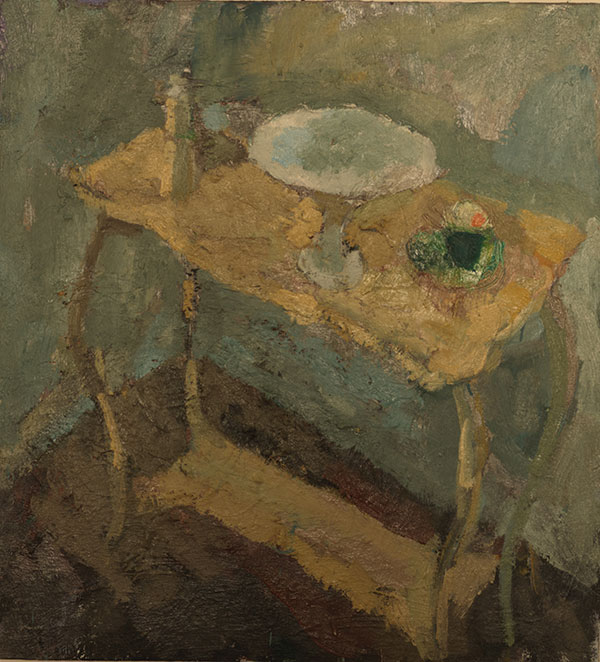 Oil on board 61x66cm